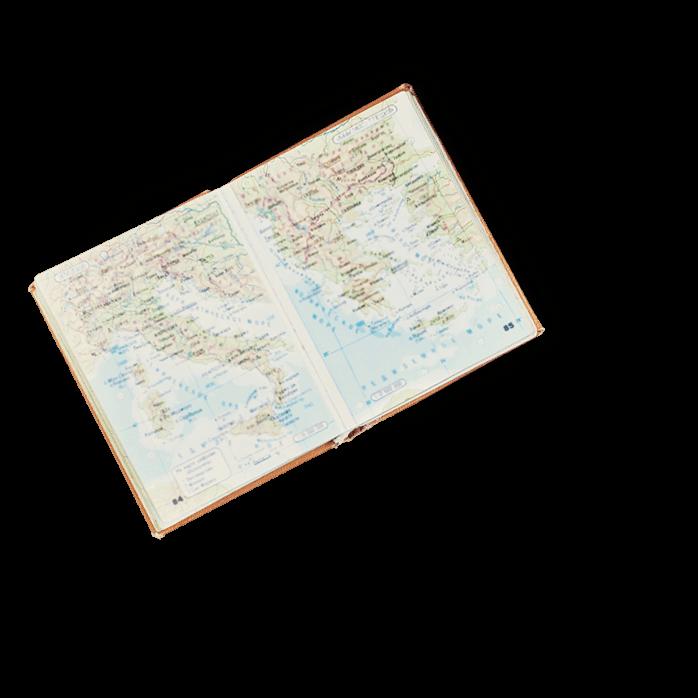 ランチトリップ 世界地図